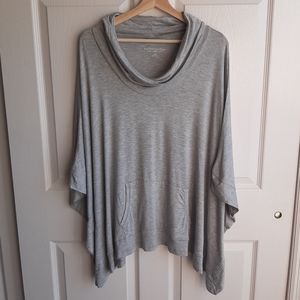 Soft Surroundings Cowl Neck Chaise Poncho Size S/M